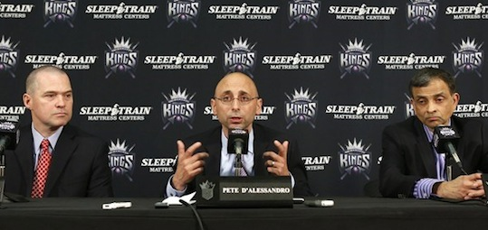 New King in Town: D'Alessandro Appointed GM of Sacramento Kings