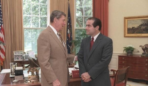 Meeting Antonin Scalia