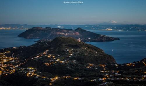 Vulcano and Etna