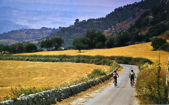 The New Track for Cycle-Tourism in the Baroque Iblei Region