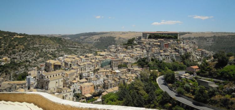 Ragusa Ibla and the Big Quake